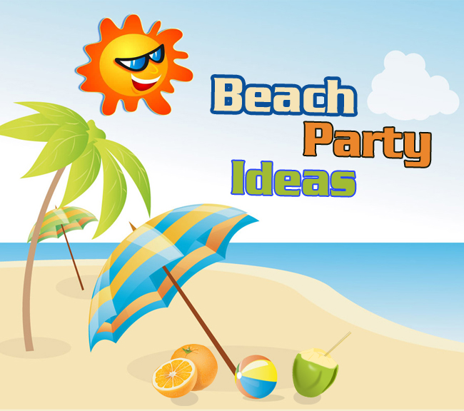 some creative beach party decoration ideas