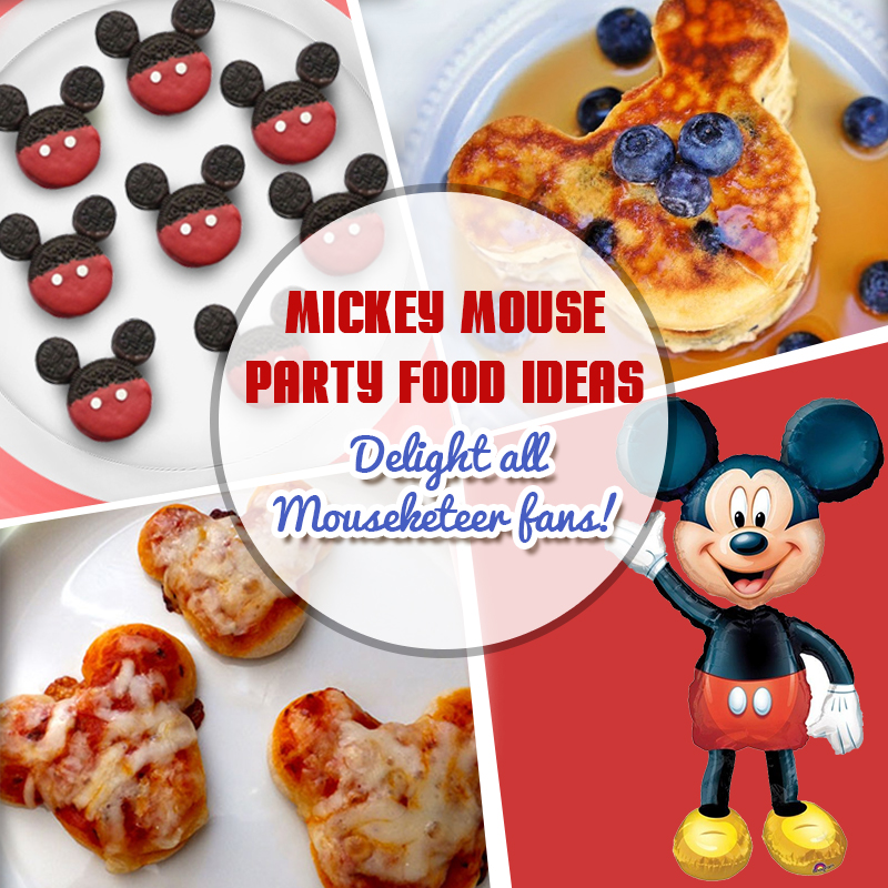 Mickey Mouse Party Food Ideas Delight All Mouseketeer Fans