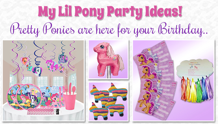 My Little Pony Party Ideas Pretty Ponies Are Here For Your