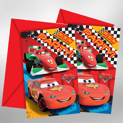 Vroom A Disney Car Theme Birthday Party Is On The Way