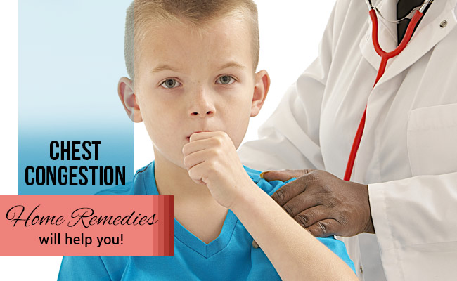 Chest Congestion – Home Remedies will help you!