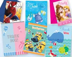 Party Invitations & Thank You Notes
