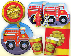Firefighter Party Supplies