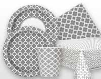 Silver Quatrefoil Supplies