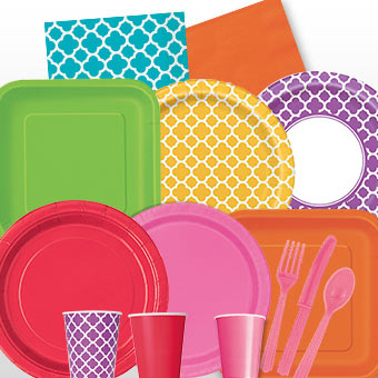 solid party supplies - Party Products