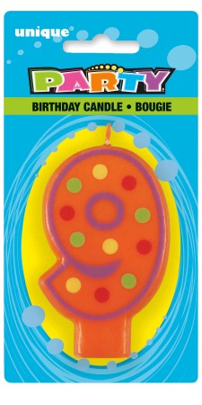 Decorative Birthday Candle 9 (1)