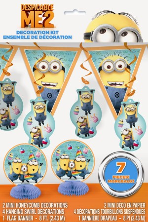 Despicable Me Minion Party Decoration Kit (1)