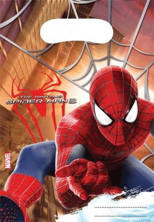 The Amazing Spiderman Party Bags (6)