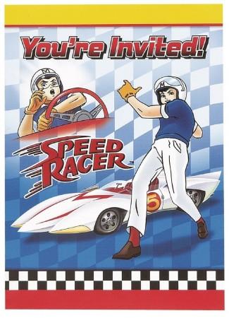 Speed Racer Invitations (8)