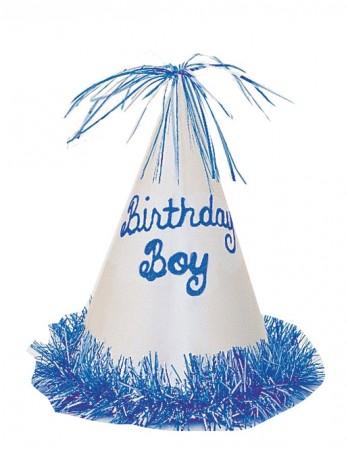 Birthday Boy Glitter Fringe Hat (1)