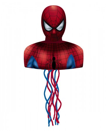 Spiderman Pull String Pinata (1)