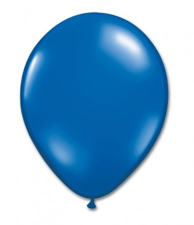 Blue Latex Balloons (100)