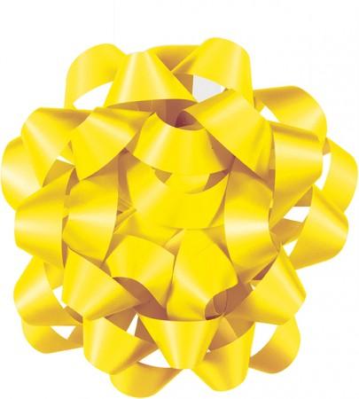 "Sunflower Yellow Gift Bow 6"" (1)"