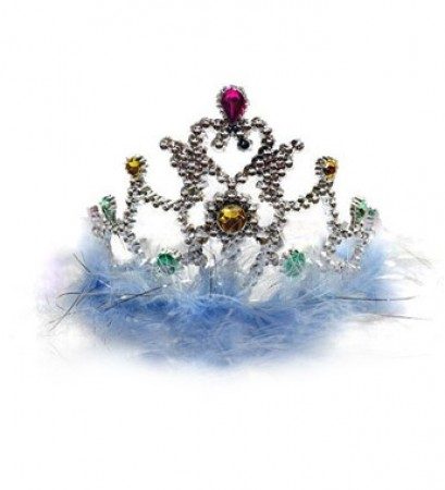 Blue Feather Tiara (1)