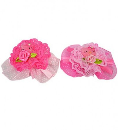 Hello Kitty Lace Clips (10)