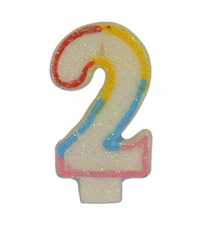 Numeral 2 Candle (1)