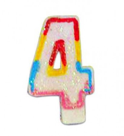 Numeral 4 Candle (1)