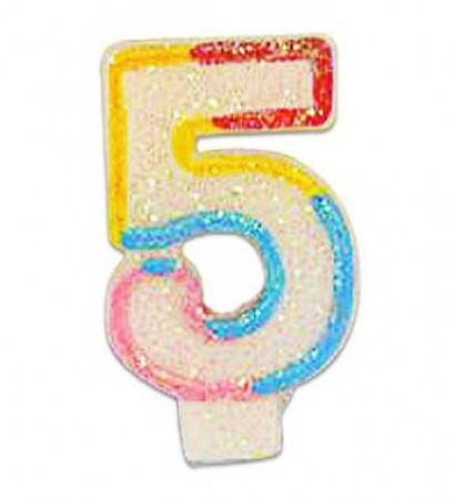 Numeral 5 Candle (1)