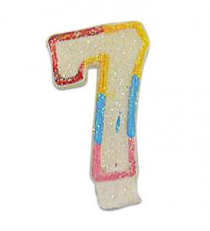 Numeral 7 Candle (1)