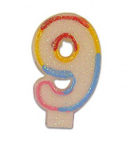 Numeral 9 Candle (1)