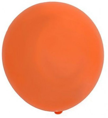 Orange Latex Balloons (100)