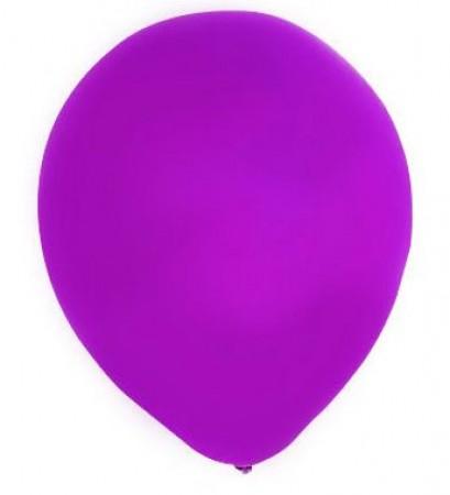 Purple Latex Balloons (100)