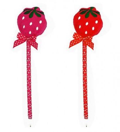 Strawberry Ball Pen (1)