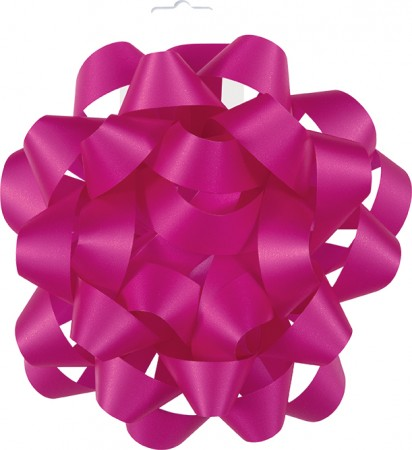 "Hot Pink Gift Bow 6"" (1)"