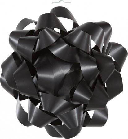 "Black Gift Bow 6"" (1)"