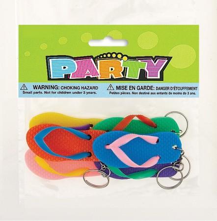 Flip Flop Key Chains (6)