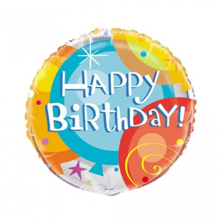"Birthday Pops 18"" Foil Balloon (1)"