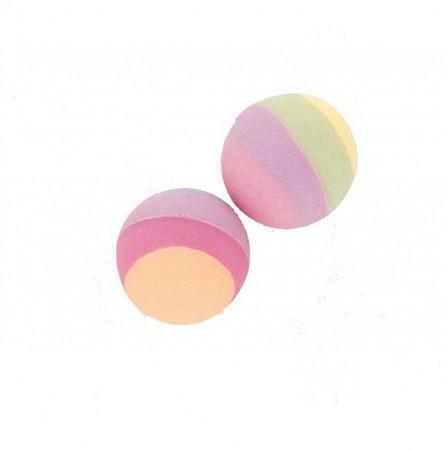 Pastel Stripe Bounce Balls (12)