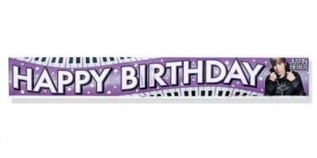Justin Bieber Foil Banner (1)