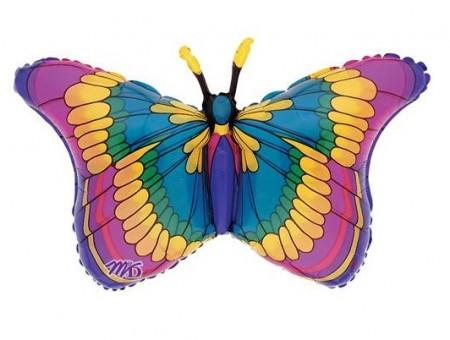 """32"""" Flutters Butterfly Shape Foil Balloon (1)"""