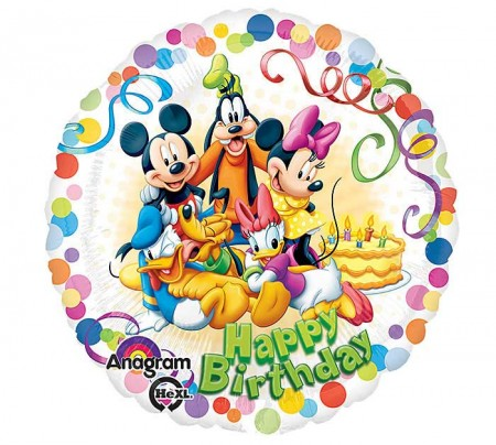 Mickey And Friends Party Foil Balloon (1)