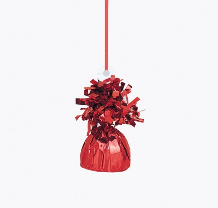 Red Foil Balloon Weight (1)