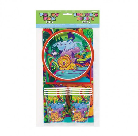 Jungle Safari Party Pack for 8 (1)