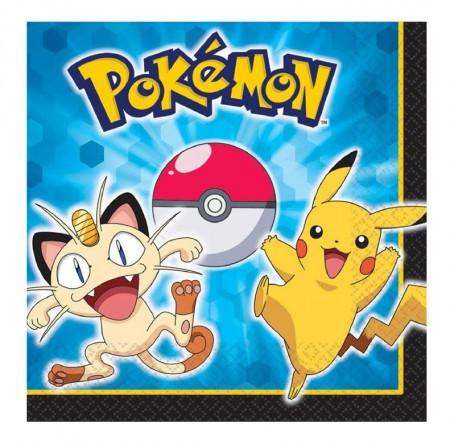 Pokemon Lunch Napkins (16)
