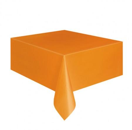 Pumpkin Orange Square Table Cover (1)
