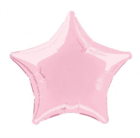 Pastel Pink Star Shaped Balloon (1)