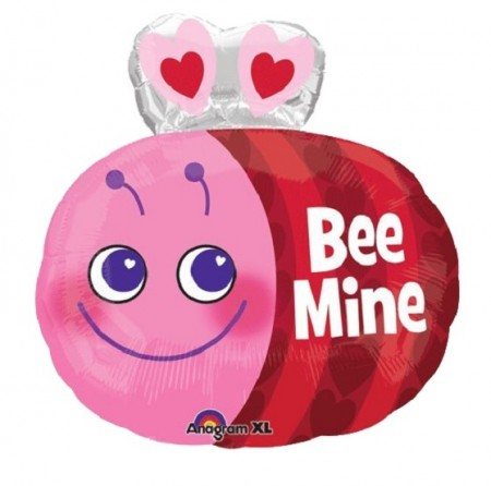 "19"" Cute Bee Junior Foil Balloon (1)"