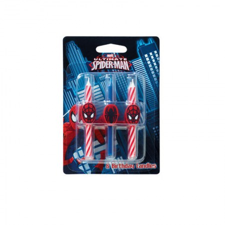 Spiderman Candle (1)
