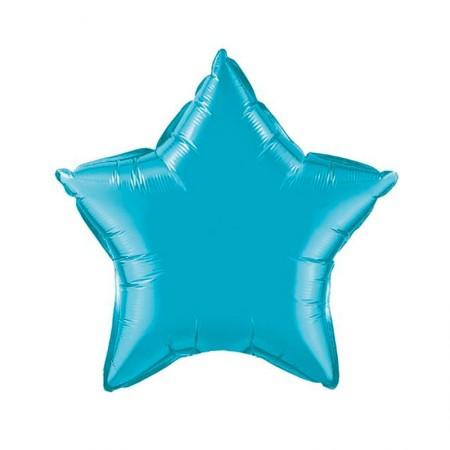 Turquoise Star Foil Balloon (1)