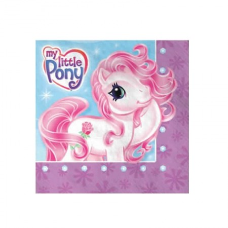 Pony Lunch Napkins (16)