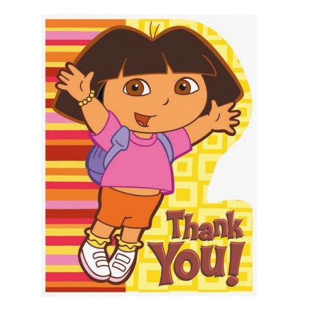 Dora Thank You Notes (1)