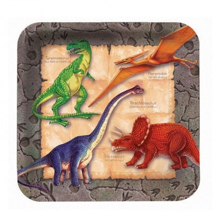 Dino Lunch Plates (8)
