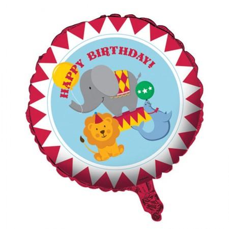 Circus Time Foil Balloon (1)