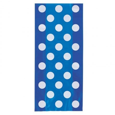 Royal Blue Dots Cello Bags (20)