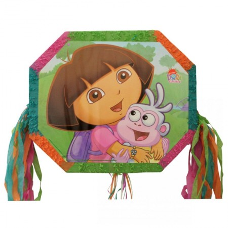 Dora The Explorer Pull String Pinata  (1)