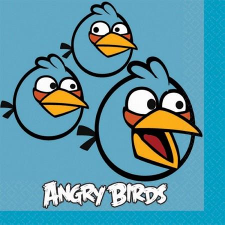 Angry Birds Beverage Napkins (16)